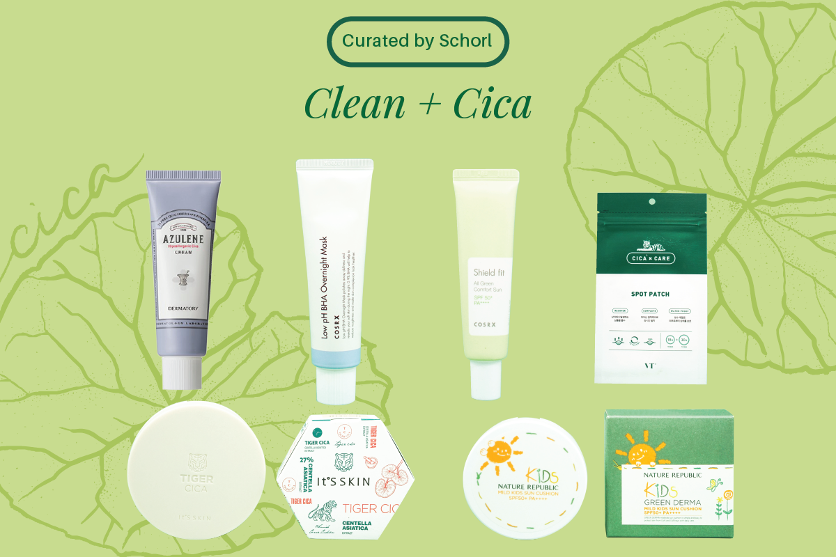 Clean Beauty & Cica