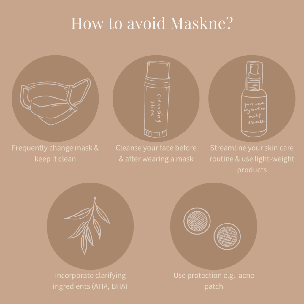 how to avoid Maskne?
